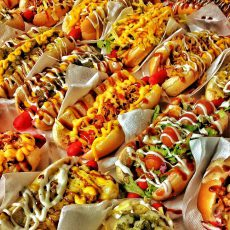Hearty, creative hot dog creations by Blondies, will be featured in the new Hamilton Street location. Signature cupcakes will also be part of the menu.